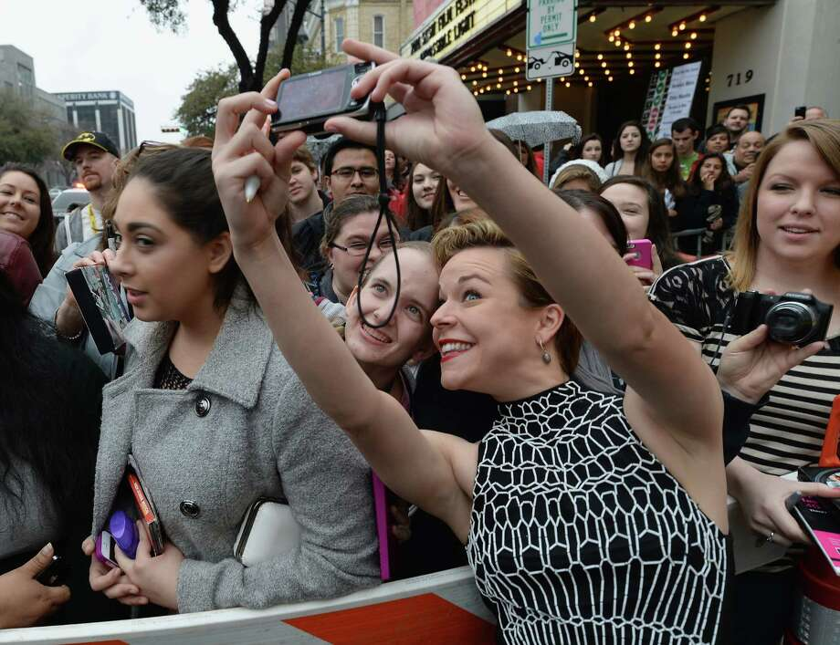 """AUSTIN, TX - MARCH 08:  Actress Tina Majorino arrives at the premiere of """"Veronica Mars"""" during the 2014 SXSW Music, Film + Interactive Festival at the Paramount Theatre on March 8, 2014 in Austin, Texas. Photo: Michael Buckner, . / 2014 Getty Images"""