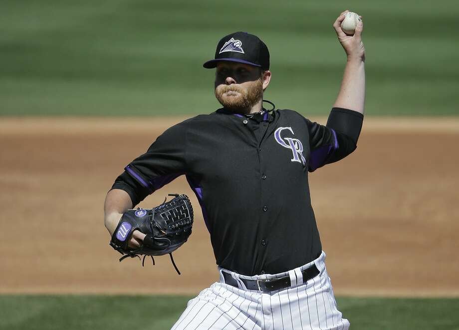 Brett Anderson allowed three hits and one run in three innings against the A's. Photo: Chris Carlson, Associated Press