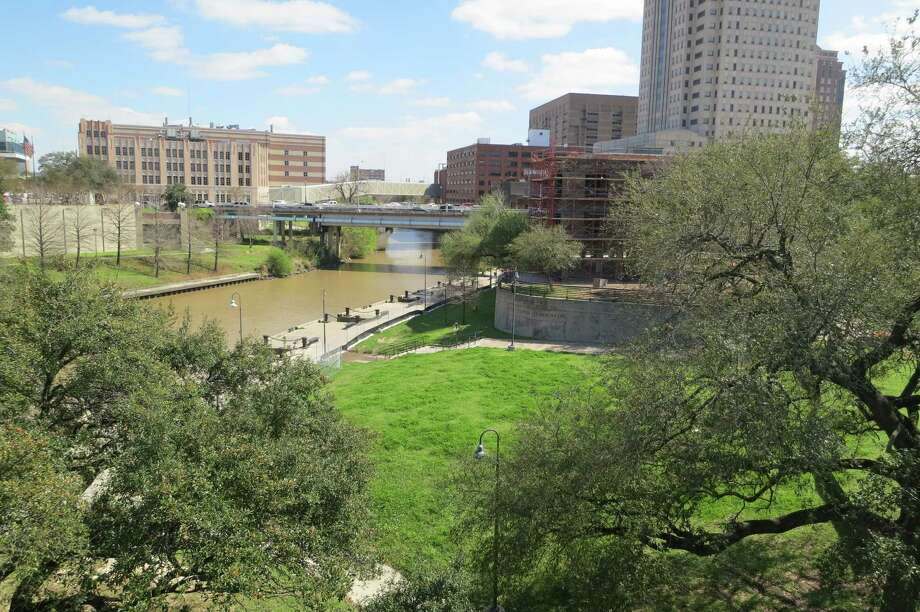 One of Houston's most historic sites, Allen's Landing, is mostly quiet, grimy and neglected these days. It is among many historic sites in the downtown area whose stories have not been preserved. Photo: Joe Holley, Staff / © 2013 Houston Chronicle