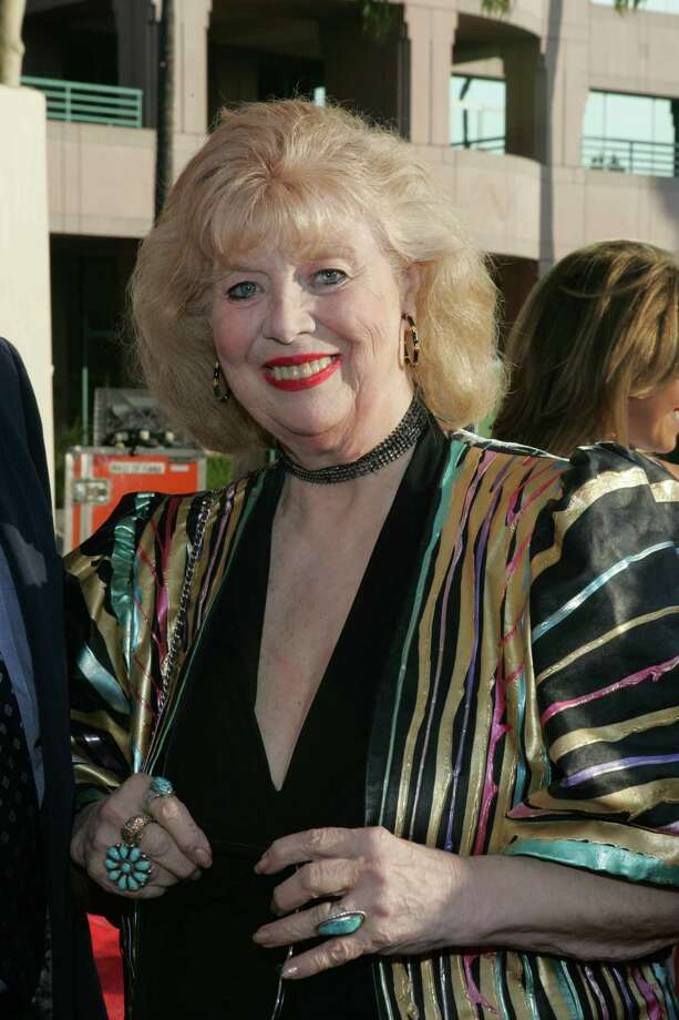 """This June 26, 2004 photo provided by The Academy of Television Arts & Sciences shows actress Sheila MacRae arriving at the 16th Hall of Fame induction ceremony in Los Angeles.  The veteran stage, film and TV performer, MacRae, best known for playing Alice Kramden in the 1960s re-creation of """"The Honeymooners"""" has died. MacRae's granddaughter, Allison Mullavey, on Friday, March 7, 2014, told The Associated Press that the actress died at age, 92, Thursday, at the Lillian Booth Actors Home in Englewood, New Jersey.  (AP Photo/Academy of Television Arts & Sciences, Mathew Imaging/Filmmagic) Photo: Mathew Imaging/FilmMagic, HOEP / Academy of Television Arts and S"""