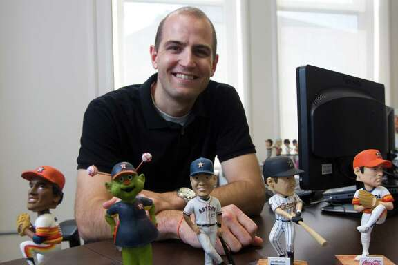 Members of the Astros' front office turn to senior technical architect Ryan Hallahan for the technological tools crucial in baseball's new world of analytics.