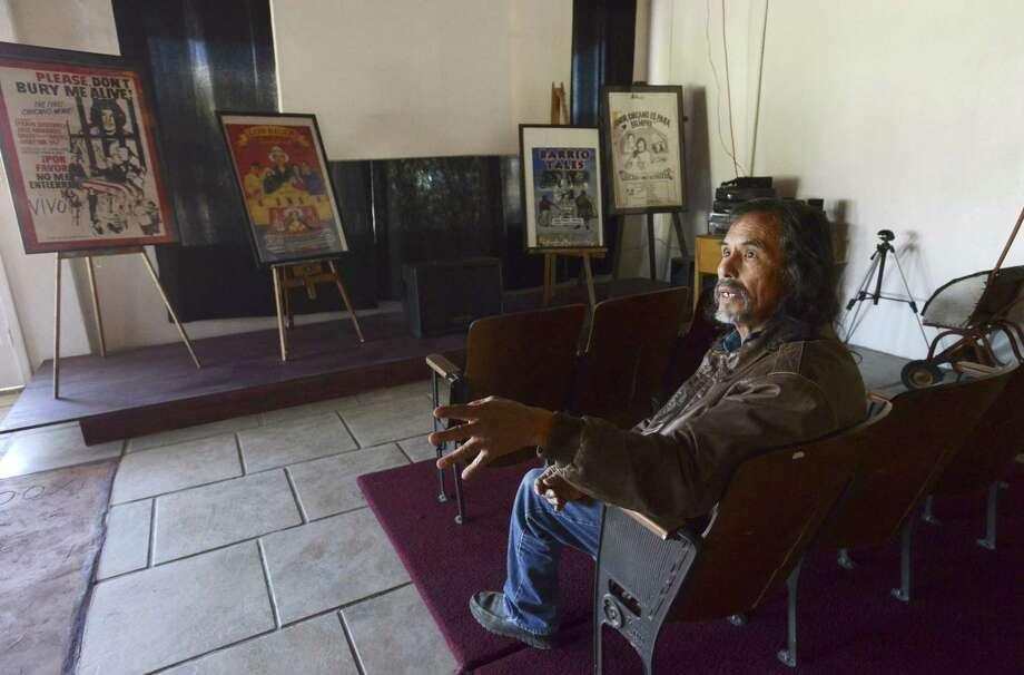 Efrain Gutierrez envisions a cultural space that can be used as an art gallery, act as a haven for the West Side sound and include film screenings and fashion shows. Photo: Photos By Billy Calzada / San Antonio Express-News / San Antonio Express-News