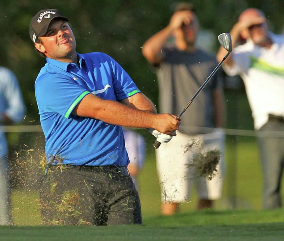Spring's Patrick Reed has a two-stroke lead heading into the final round of the Cadillac Championship. Photo: Al Diaz, MBR / Miami Herald