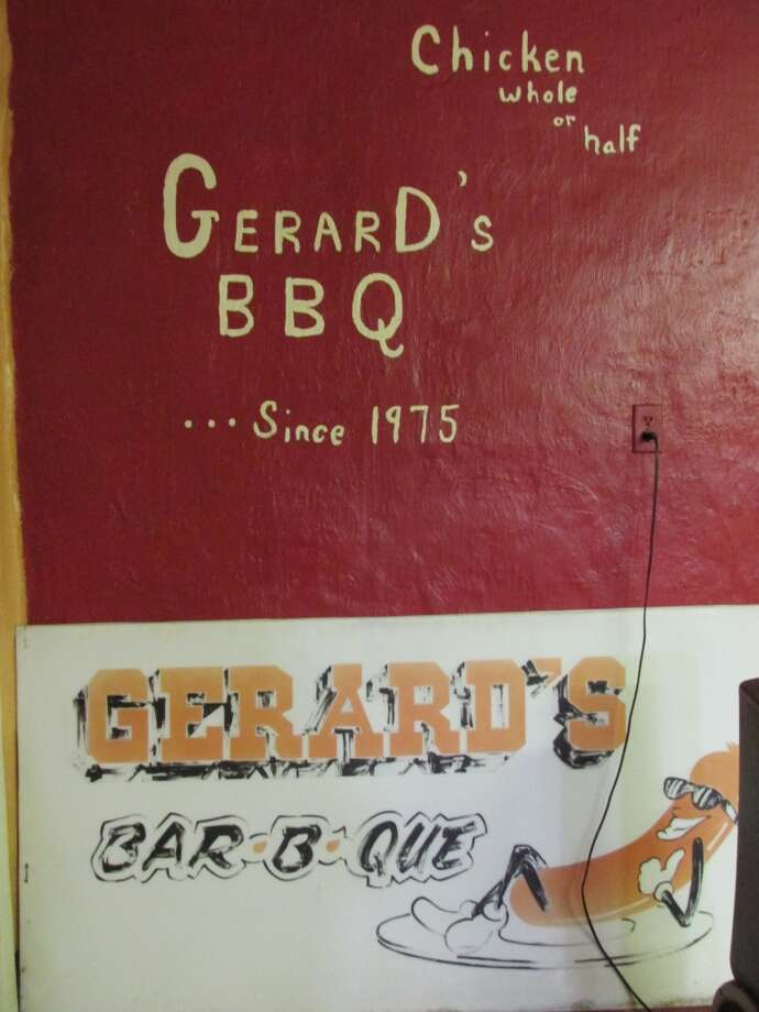 Gerard's Barbeque Diner in Beaumont has been operating since 1970. Photo: Cat5