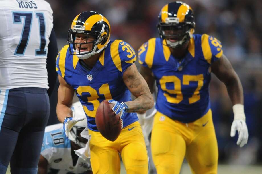 Cortland Finnegan  2013 team: St. Louis Rams  Age: 30  2013 stats: 7 games, 23 tackles, 1 interceptions, 1 passes defensed Photo: Michael Thomas, Getty Images