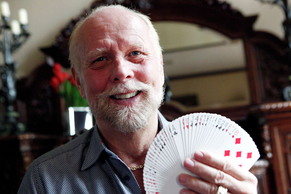 Richard Turner, 59, is a card mechanic, also known as a card shark, who travels the world showing his skills with playing cards. Turner, who is blind, has practiced with playing cards for over 135,000 hours and started getting interested in cards when he was 7 years-old. A documentary on his life will come out in spring of 2015.