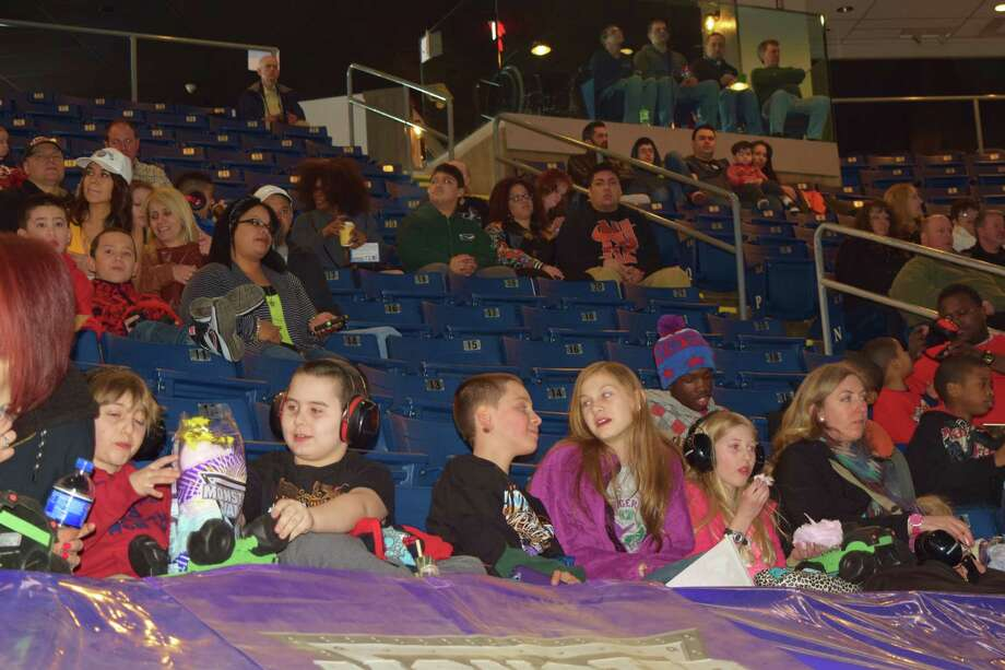 The Monster Jam blow-out wrapped up this weekend at Bridgeport's Webster Bank Arena with a powerful performance Sunday, March 9, 2014. Jumping and racing at full throttle around the dirt track was a special treat for the kids and adults alike who couldn't take their eyes off the spectacle. Medusa was a favorite among the crowd along with Connecticut's own quad racing team. Were you SEEN?  Photo: Todd Tracy / Hearst Connecticut Media Group
