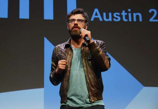 "AUSTIN, TX - MARCH 08:  Co-star/co-filmmaker Jemaine Clement addresses the audience before the ""What We Do In The Shadows"" premiere during the 2014 SXSW Music, Film + Interactive Festival at the Topfer Theatre at ZACH on March 8, 2014 in Austin, Texas. Photo: Michael Loccisano, Getty Images / 2014 Getty Images"