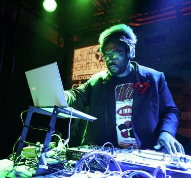 IMAGE DISTRIBUTED FOR MICROSOFT - Questlove DJs the #ReadyWhenYouAre party at the Microsoft Studio at SXSW in Austin, TX on Saturday, March 8, 2014. (Erich Schlegel/AP Images for Microsoft) Photo: Erich Schlegel, Getty Images / AP Images