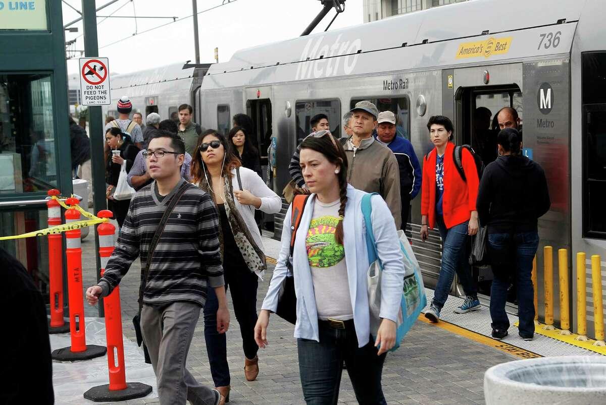 The 10th most dangerous city in America:Los Angeles-Long Beach-Santa Ana, CaliforniaAnnual pedestrian deaths (2008-2012) per 100,000 people: 1.79Pedestrian danger index: 66.91Total pedestrian deaths (2003-2012): 2,435