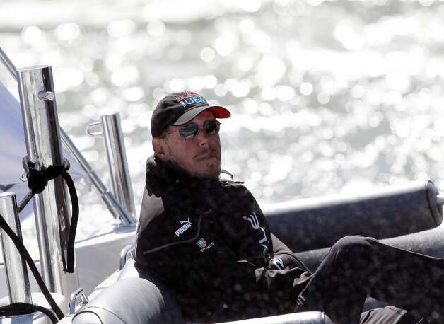 Larry Ellison basks in the glory of Oracle Team USA's comeback win in the America's Cup in September. Photo: Beck Diefenbach, Special To The Chronicle