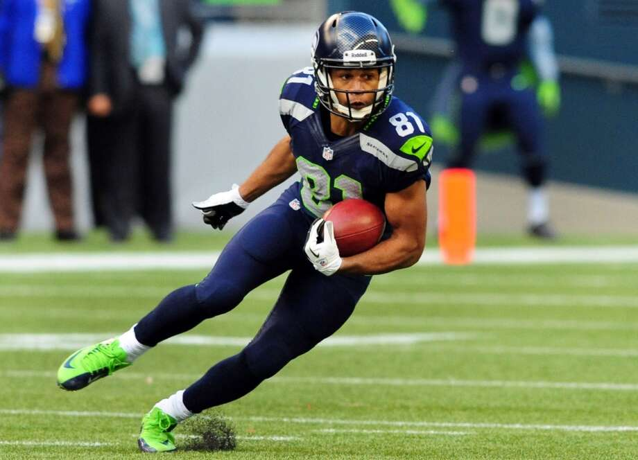 3. WR Golden Tate NFL experience: Four years 2013 salary: $630,000 Analysis: With 165 receptions for 2,195 yards and 15 touchdowns in four seasons, Tate's numbers don't exactly jump off the page. But he's certainly trending upward, hauling in a career-high 64 catches while averaging 11.5 yards per punt return in 2013. The Hawks have receivers on the roster who could approximate what Tate does in the passing game, but his attitude and toughness help give Seattle its offensive identity, and his return abilities would be hard to replace. Losing Tate would be a big blow, but he may command more on the open market than the Seahawks are willing to spend. Photo: Steve Dykes, Getty Images