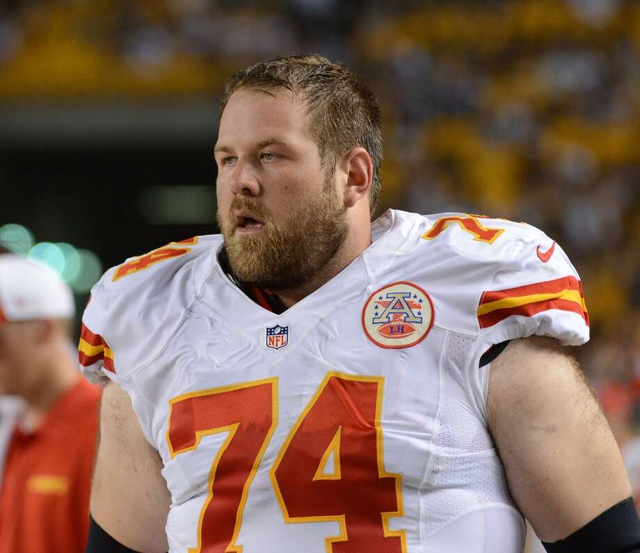 2. OL Geoff Schwartz NFL experience: Five years 2013 salary:  $630,000 Analysis: Though Schwartz might not be a household name, signing the 6-foot-6, 332-pound mountain of a man would constitute a splashy move for Seattle. The former Oregon Duck played for three different teams over the last three seasons and won a starting job in Kansas City only because of injury, but he played well enough in 2013 to make himself one of the most sought-after offensive linemen in free agency. Though he excelled at guard, Schwartz could be a more than capable replacement for Breno Giacomini at right tackle. Photo: George Gojkovich, Getty Images
