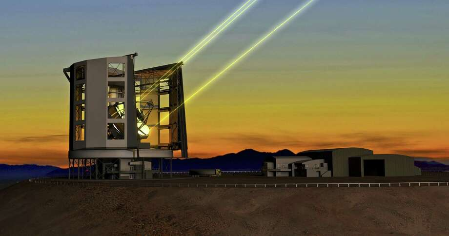 The Giant Magellan Telescope will be set up in Chile once $1 billion is raised to build it. The University of Texas at Austin plans to contribute 10 percent of the funds. Photo: Courtesy Illustration / New York Times / GIANT MAGELLAN TELESCOPE ORGANIZ
