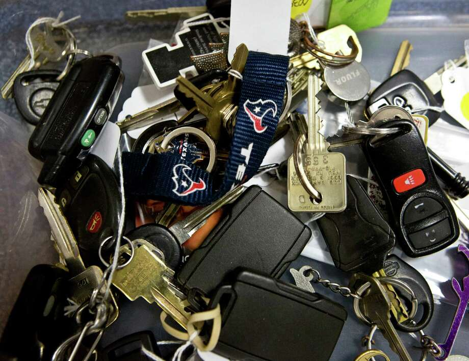 All makes of keys can be found at Reliant Center room 102, where they are stored in bins. Photo: Marie D. De Jesus, Staff / © 2014 Houston Chronicle