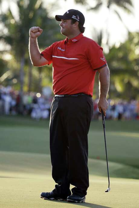 Patrick Reed, 23, became the youngest winner of a World Golf Championship. Doral was his third win in his last 14 events. Photo: Associated Press / AP
