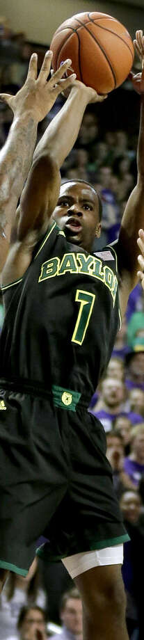 Kenny Chery's return from an injury helped Baylor win seven of its last eight games to improve its NCAA hopes. Photo: Charlie Riedel / Associated Press / AP