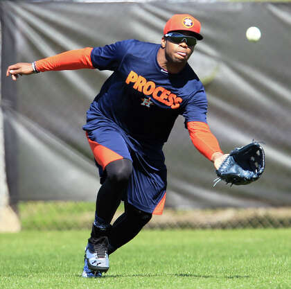 Speed remains calling card for Astros' DeShields - HoustonChronicle com