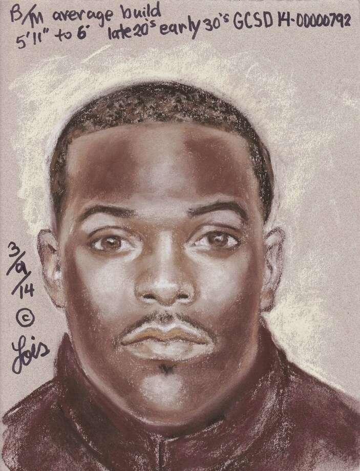 03102014 Bolivar murder suspect composite  Captain Barry Cook Galveston County Sheriff's Office Commander Criminal Investigation Division