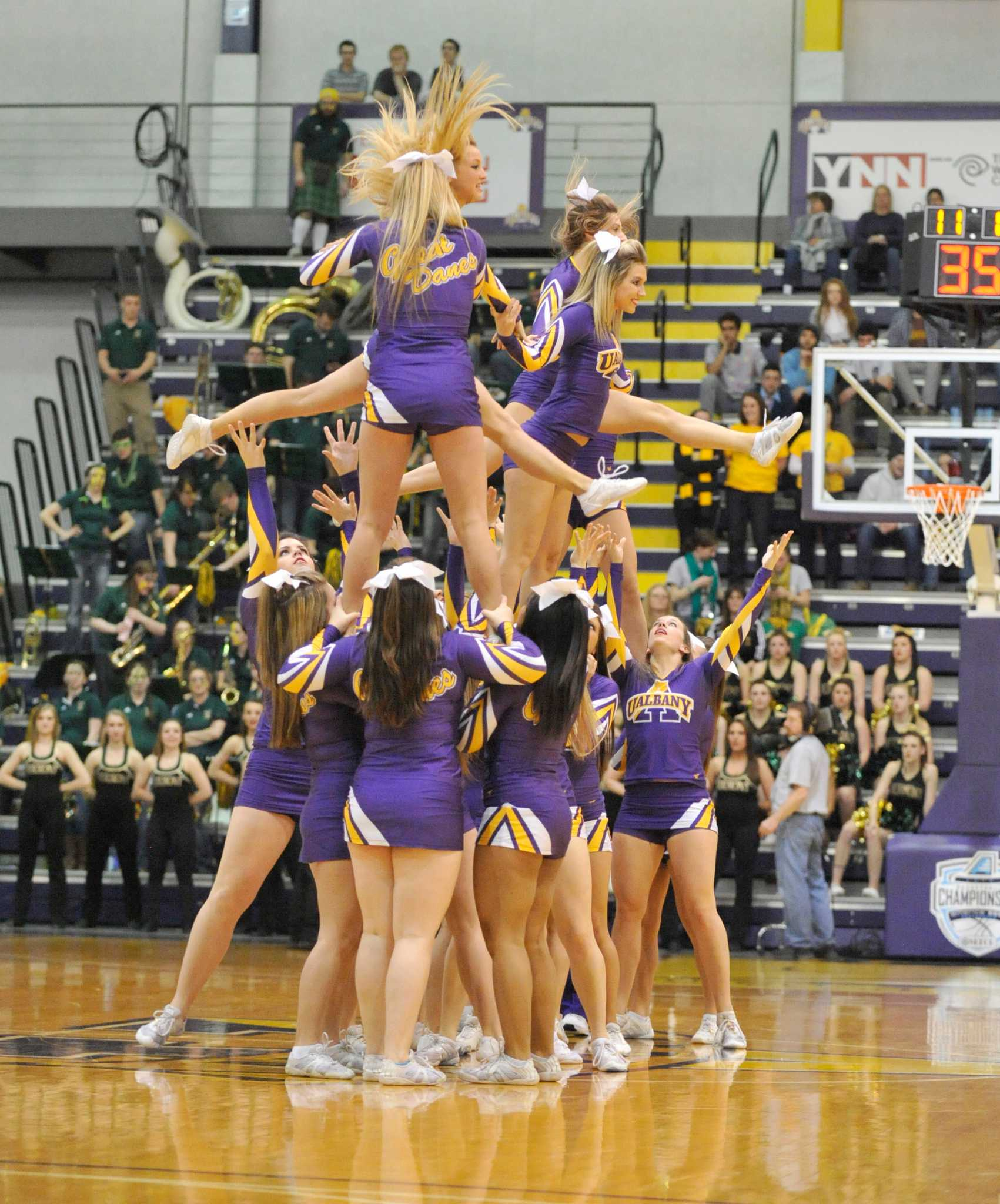 The cheerleaders of March Madness - Times Union