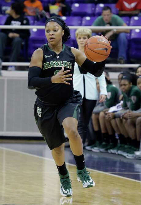 Baylor guard Odyssey Sims (0) dribbles the ball up court during the first half of an NCAA college basketball game against the TCU Saturday, Feb. 22, 2014, in Fort Worth, Texas. (AP Photo/LM Otero) Photo: LM Otero, STF / AP