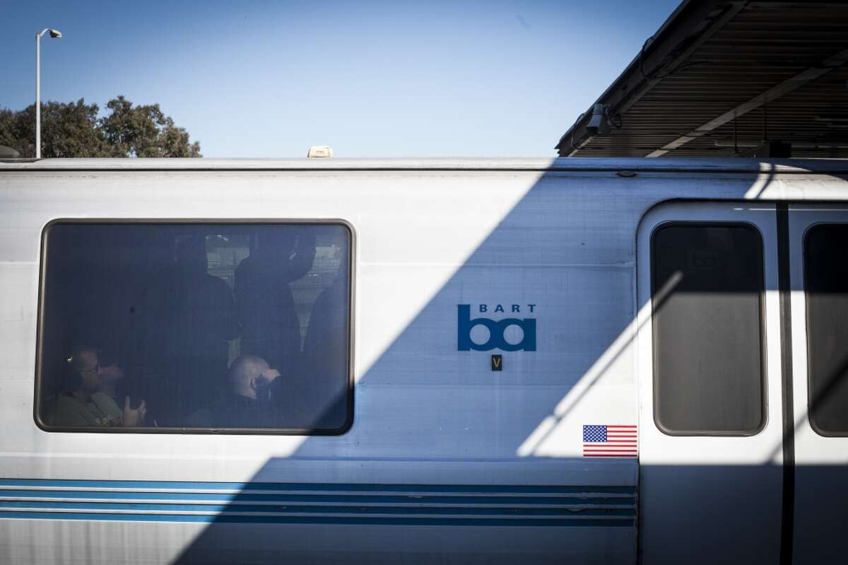 BART police are searching for a suspect and reviewing security camera footage from the train.