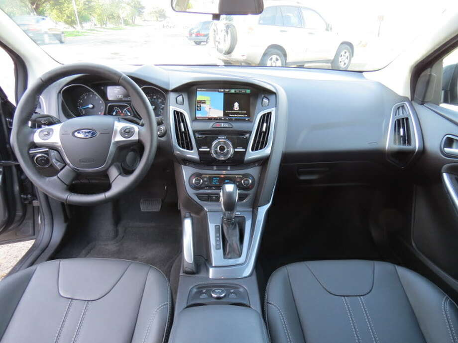 The Focus we drove had the optional navigation system and handling package.