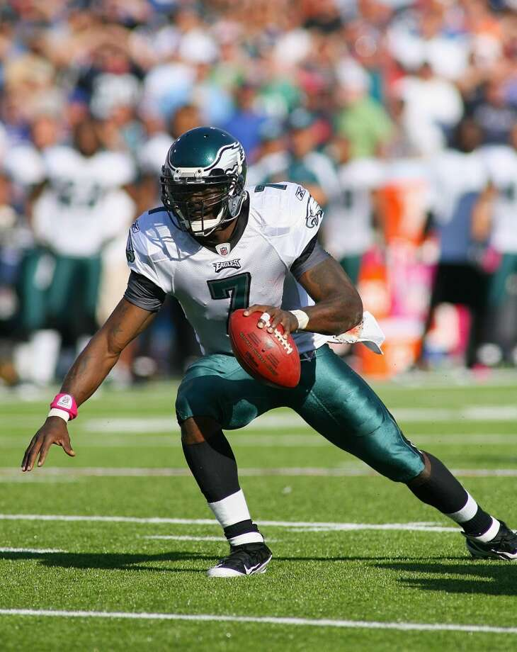 Michael Vick  Position: QB  Status: Signed with New York Jets Photo: Rick Stewart, Getty Images