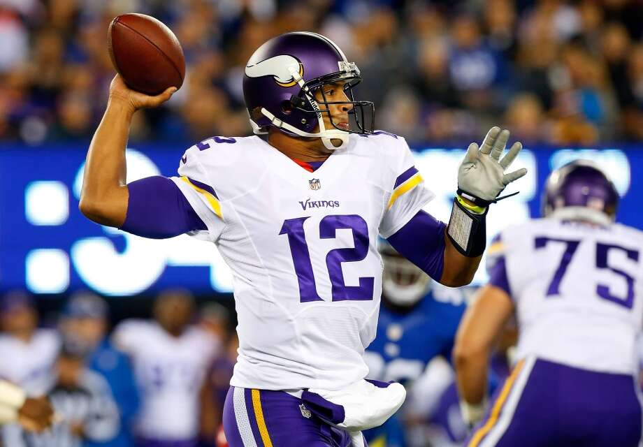 Josh Freeman  Position: QB  Status: Signed with New York Giants Photo: Jim McIsaac, Getty Images
