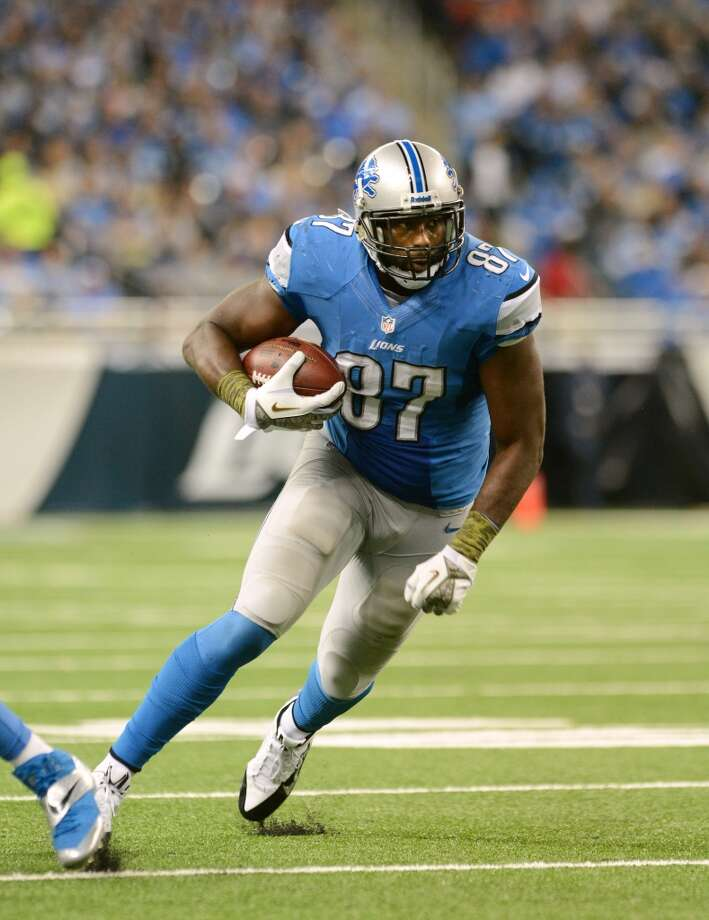 Brandon Pettigrew  Position: TE  Status: Re-signed with Detroit Lions Photo: Mark Cunningham, Getty Images