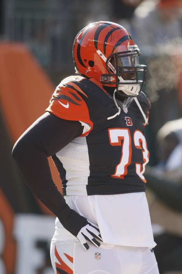 Anthony Collins  Position: OT  Status: Signed with Tampa Buccaneers Photo: Anthony Collins, Getty Images