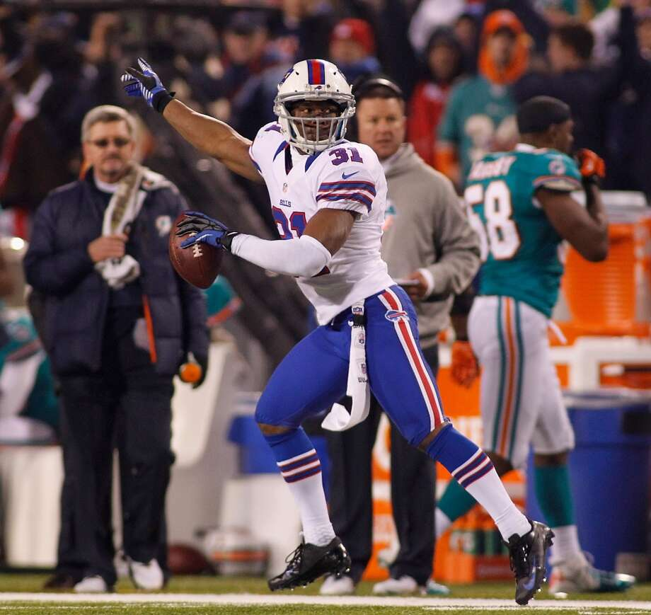 Jairus Byrd  Position: FS  Status: Signed with New Orleans Saints Photo: Rick Stewart, Getty Images