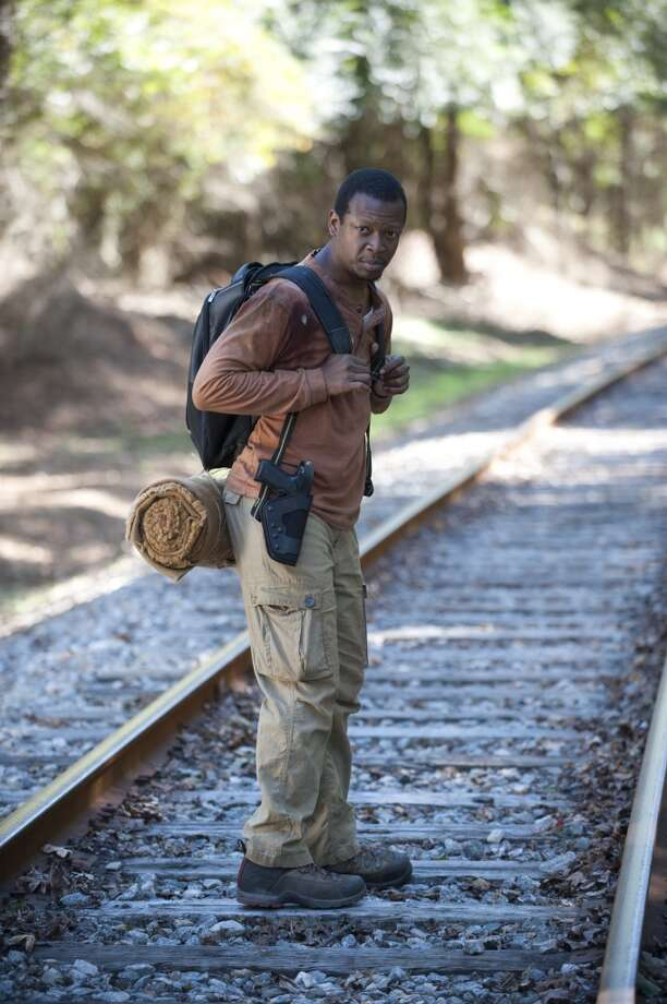 Bob Stookey (Larry Gilliard Jr.) - The Walking Dead _ Season 4, Episode 13 - Photo Credit: Gene Page/AMC Photo: Gene Page/AMC