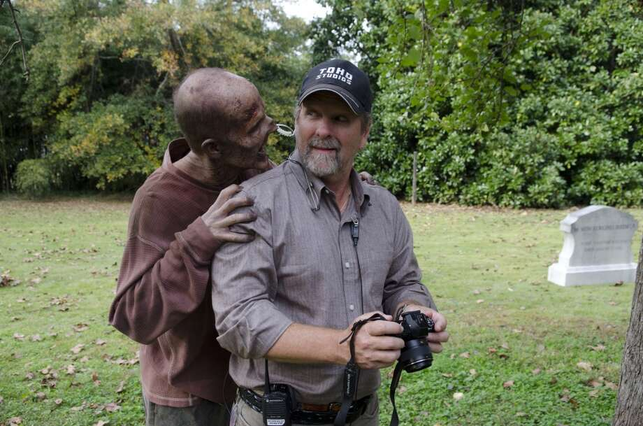 Walker - The Walking Dead _ Season 4, Episode 13 _ BTS - Photo Credit: Gene Page/AMC Photo: Gene Page/AMC