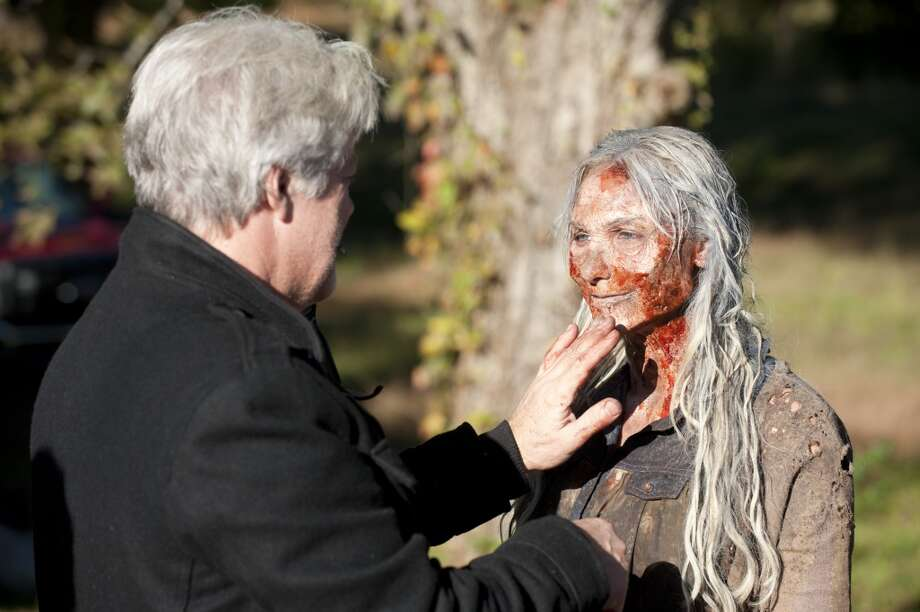 Walkers - The Walking Dead _ Season 4, Episode 13 _ BTS - Photo Credit: Gene Page/AMC Photo: Gene Page/AMC