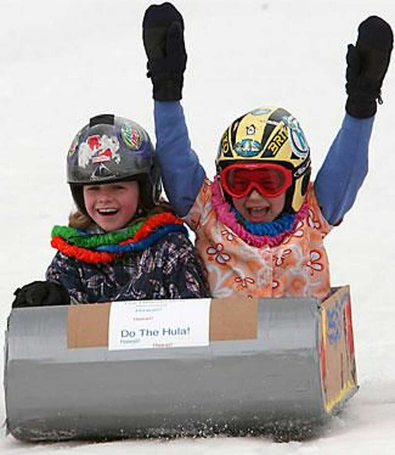 Hunter Mt., NY-Winter Carnival and Paper Box Derby 3/15