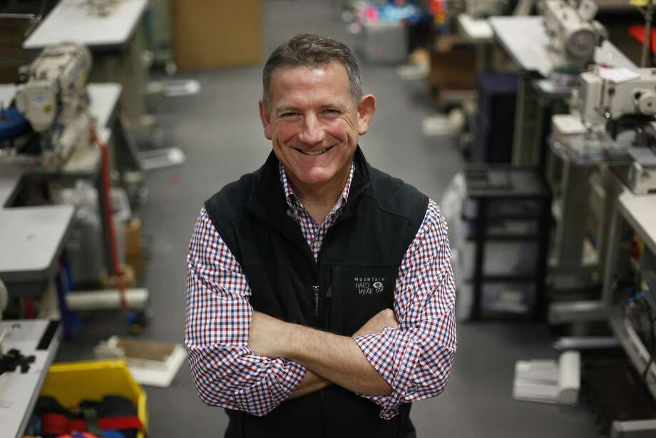 Mark Dwight, founder of Rickshaw Bagworks, says tech firms' charity is good, but business would be better. Photo: Lea Suzuki, The Chronicle