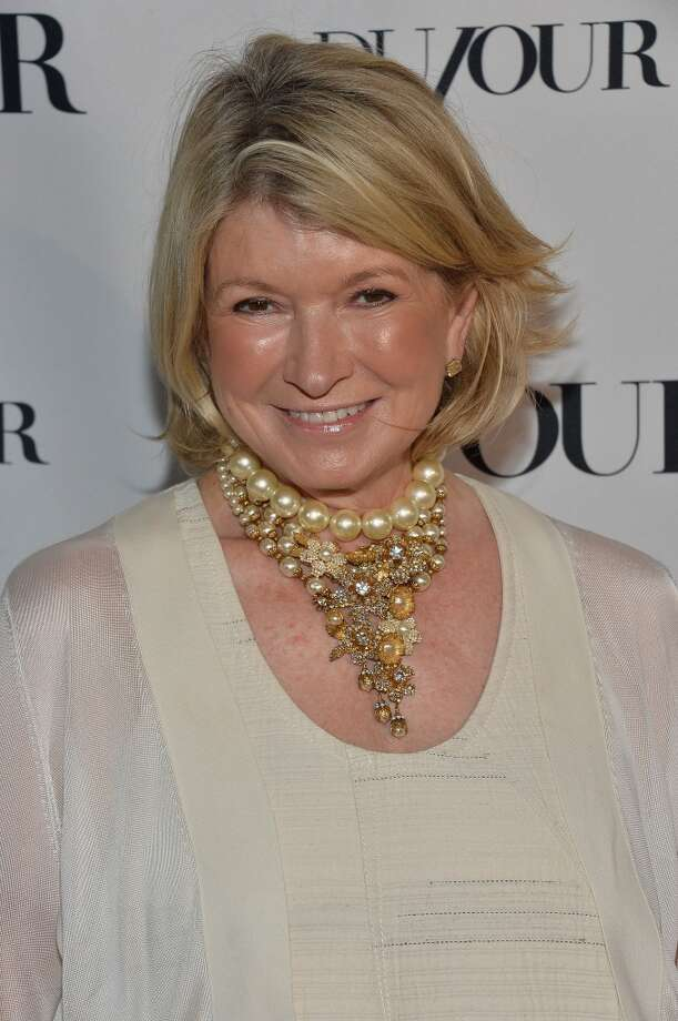 "Lest you think this is Martha Stewart's first sexual confession, let me draw your attention to her June 2013 appearance on ""Watch What Happens Live!"" where the domestic diva revealed  she ""maybe"" had a threesome.Another fun fact? Stewart also admits to having sexted! But just recipes. Photo: Frazer Harrison, Getty Images For DuJour"