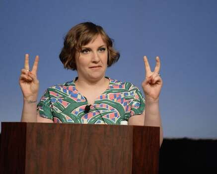 AUSTIN, TX - MARCH 10:  Filmmaker Lena Dunham speaks during the SXSW 2014 Film Keynote during the 2014 SXSW Music, Film + Interactive Festival at the Austin Convention Center on March 10, 2014 in Austin, Texas. Photo: Michael Buckner, Getty Images For SXSW / 2014 Getty Images