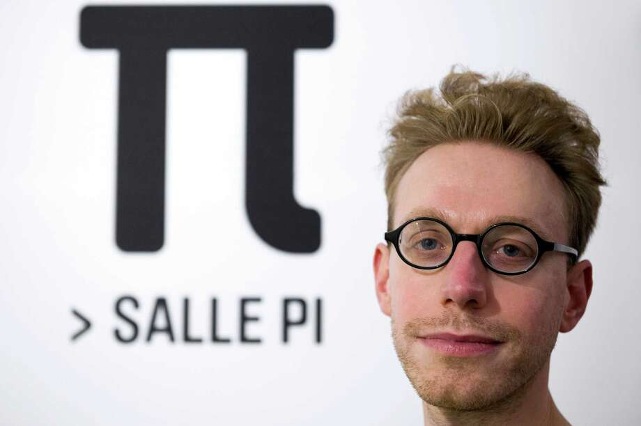 Pi Day: Celebrated worldwide on March 14 by math enthusiasts (including this guy who can recite pi to 22,514 digits from memory) because today is 3.14, the approximate value of Pi * Date is also anniversary of birth of Albert Einstein (1879). Photo: LIONEL BONAVENTURE, Getty Images / 2013 AFP