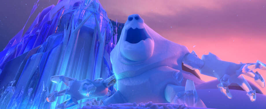 "The monstrous snowman Marshmallow was voiced by Paul Briggs in the film ""Frozen."" Photo: Disney / ©2013 Disney. All Rights Reserved."