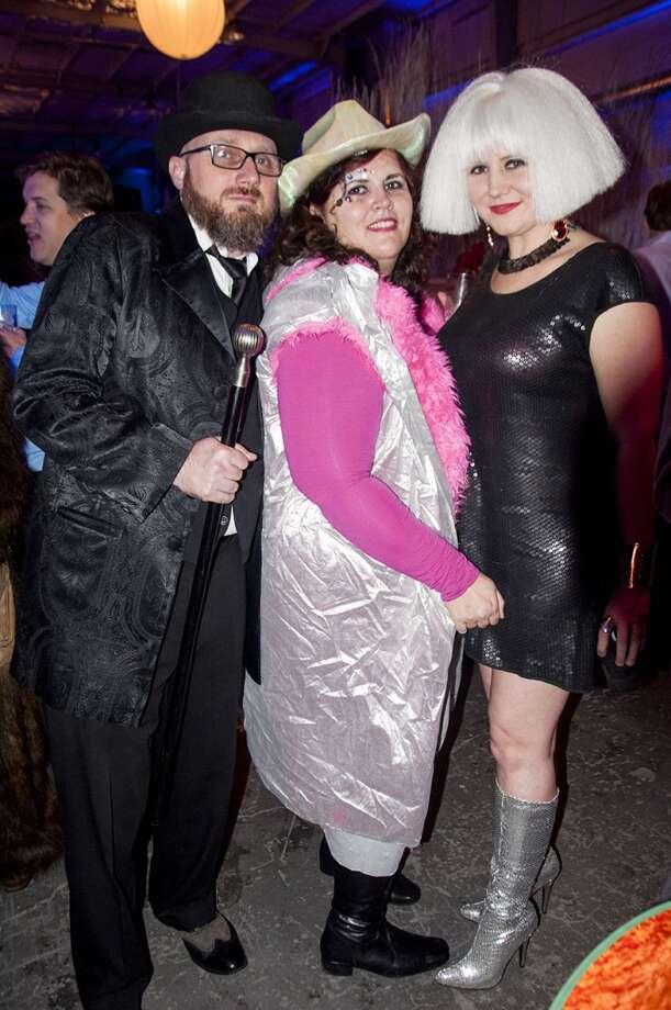 Graham Gaskill, Claudia Solis, Christina Solis. Photo: Neiman Catley
