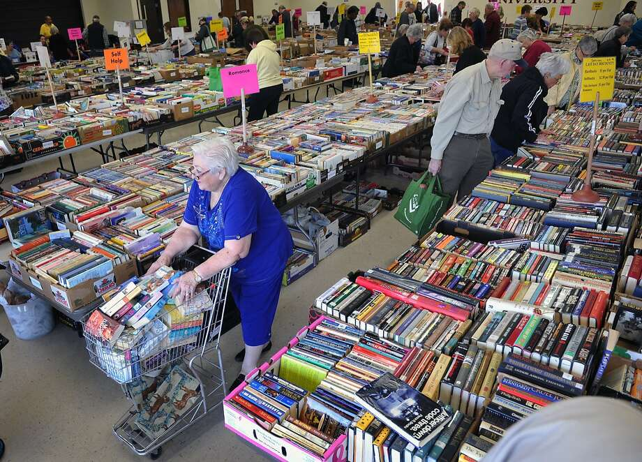 Be still my throbbing cart: With hardbacks selling for dollar 