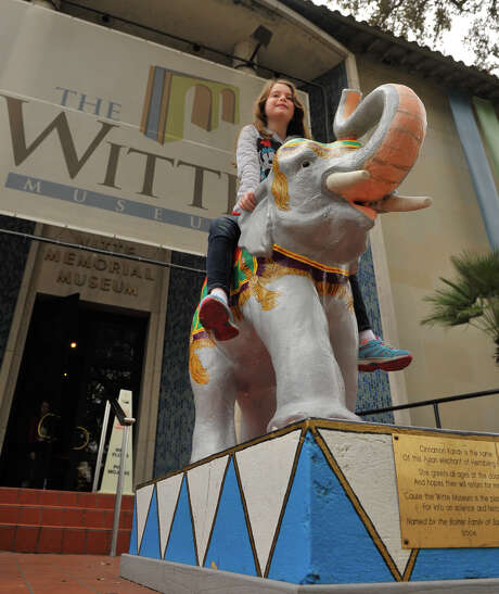 The Witte Museum offers free admission from 3 to 8 p.m. on Tuesdays. The  museum is just one of many options for kids looking for free summer  fun. Photo: Robin Jerstad, For The Express-News / San Antonio Express-News