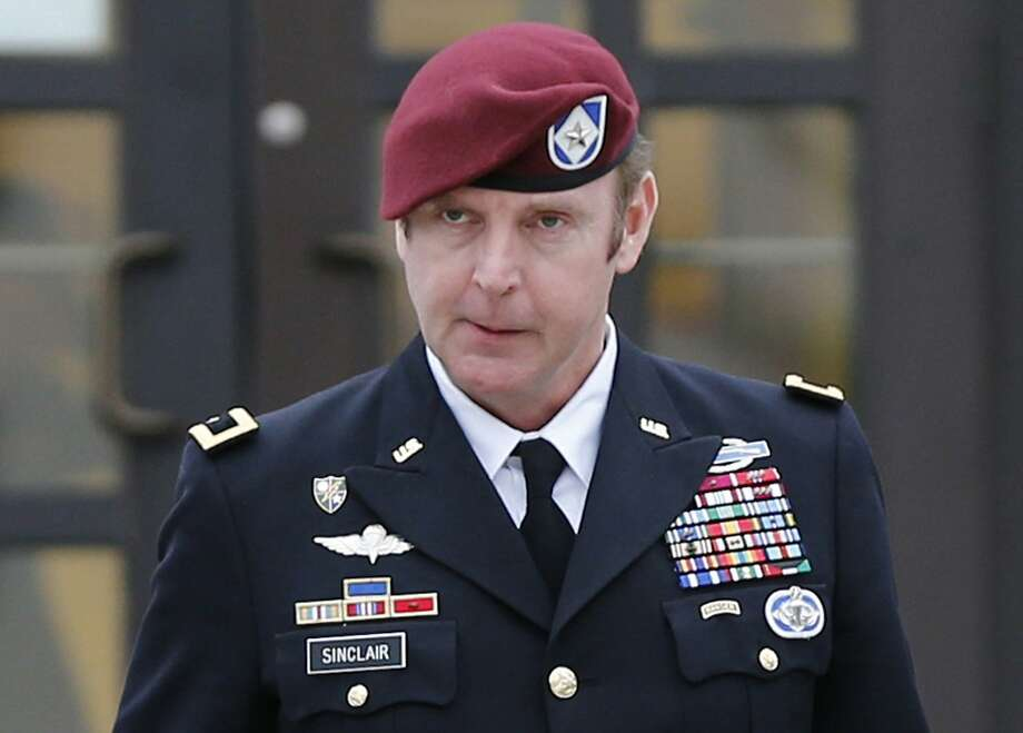 Army Brigadier General Jeffrey Sinclair faces sexual assault allegations. Photo: Ellen Ozier, Reuters