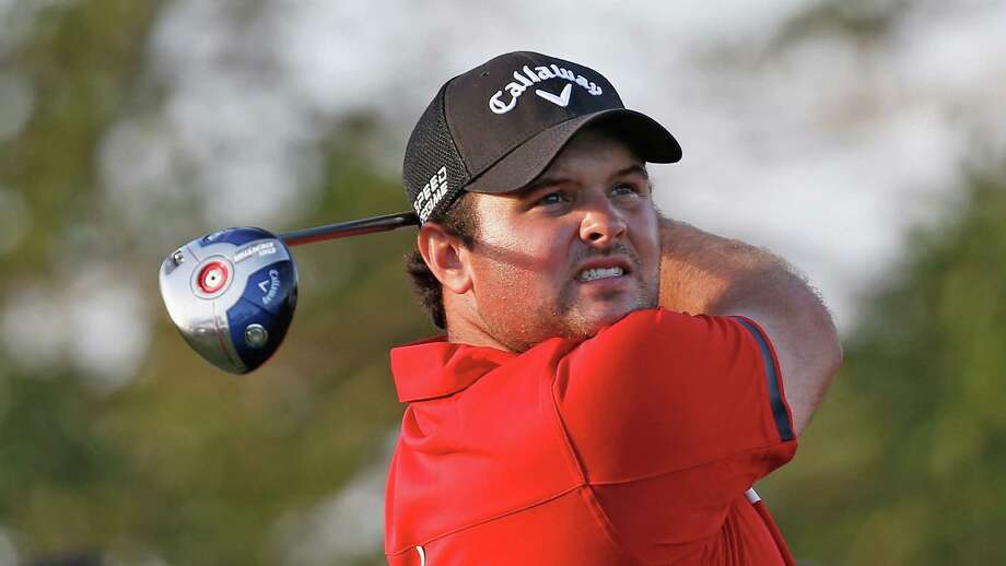 DORAL, FL - MARCH 09:  Patrick Reed watches his tee shot on the 16th hole during the final round of the World Golf Championships-Cadillac Championship at Trump National Doral on March 9, 2014 in Doral, Florida. Photo: Chris Trotman, Getty Images / 2014 Getty Images