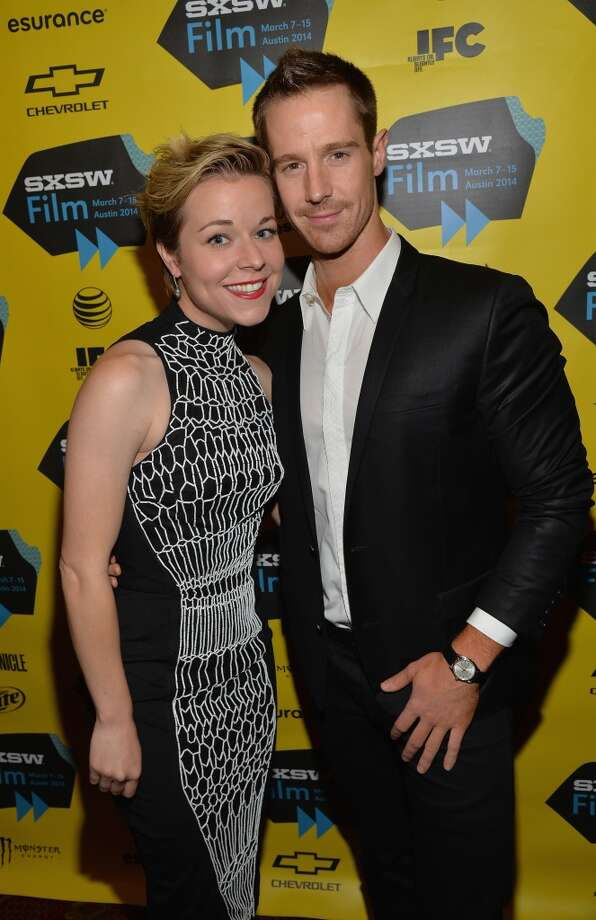 "Actress Tina Majorino (L) and actor Jason Dohring arrives at the premiere of ""Veronica Mars"" during the 2014 SXSW Music, Film + Interactive Festival at the Paramount Theatre on March 8, 2014 in Austin, Texas. Photo: Michael Buckner, Getty Images For SXSW"