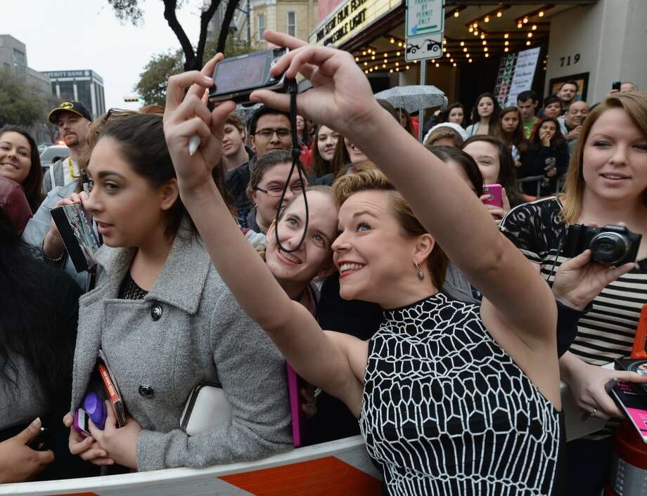 "Actress Tina Majorino arrives at the premiere of ""Veronica Mars"" during the 2014 SXSW Music, Film + Interactive Festival at the Paramount Theatre on March 8, 2014 in Austin, Texas. Photo: Michael Buckner, Getty Images For SXSW"