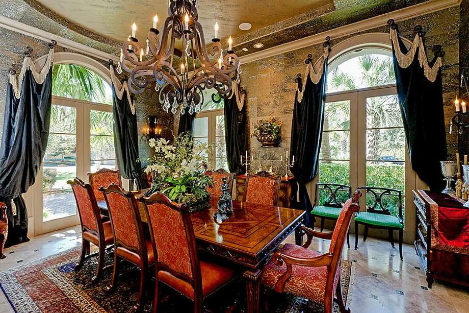 20 Windsor: This 2000 Mediterranean-style Sugar Land home has 5 bedrooms, 5 full and 3 half bathrooms, 10,016 square feet, and is listed for $3,600,000. Photo: Houston Association Of Realtors