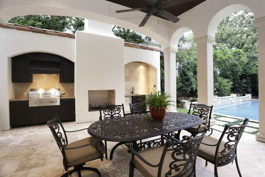 3741 Inwood: This 2013 Spanish-style villa has 4-6 bedrooms, 6 full and 2 half bathrooms, 7,602 square feet, and is listed for $4,350,000. Photo: Houston Association Of Realtors